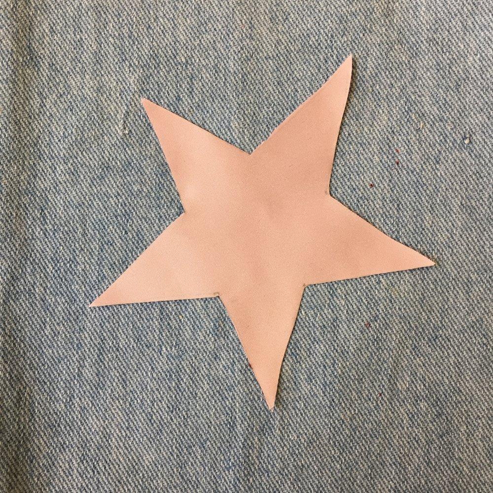 PINK SILK STAR