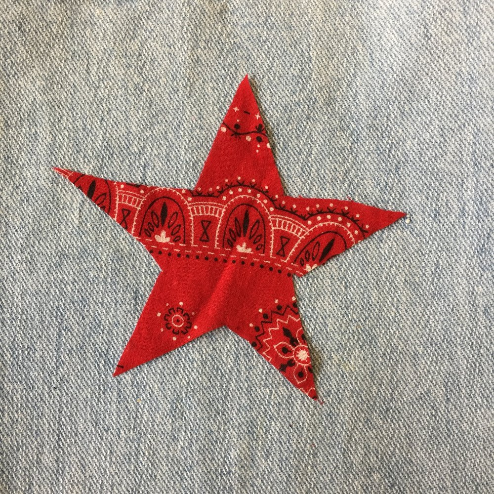 RED BANDANA STAR