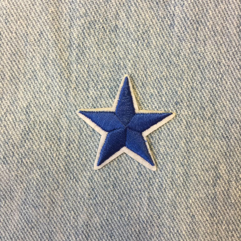 MINI NAVY BLUE STAR
