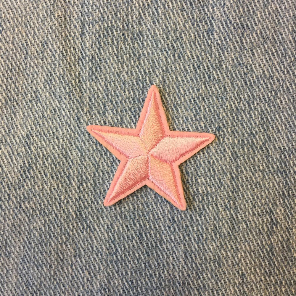 MINI PALE PINK STAR