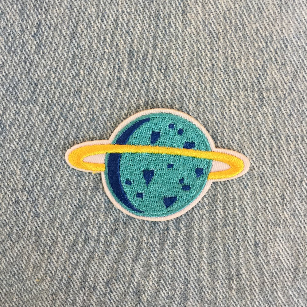 BLUE & YELLOW PLANET - SOLD OUT