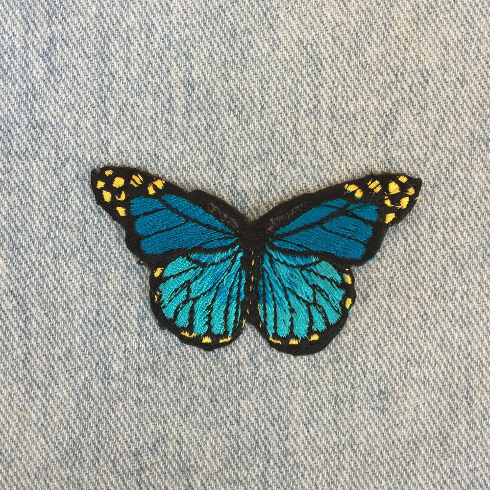 BLUE BUTTERFLY - SOLD OUT