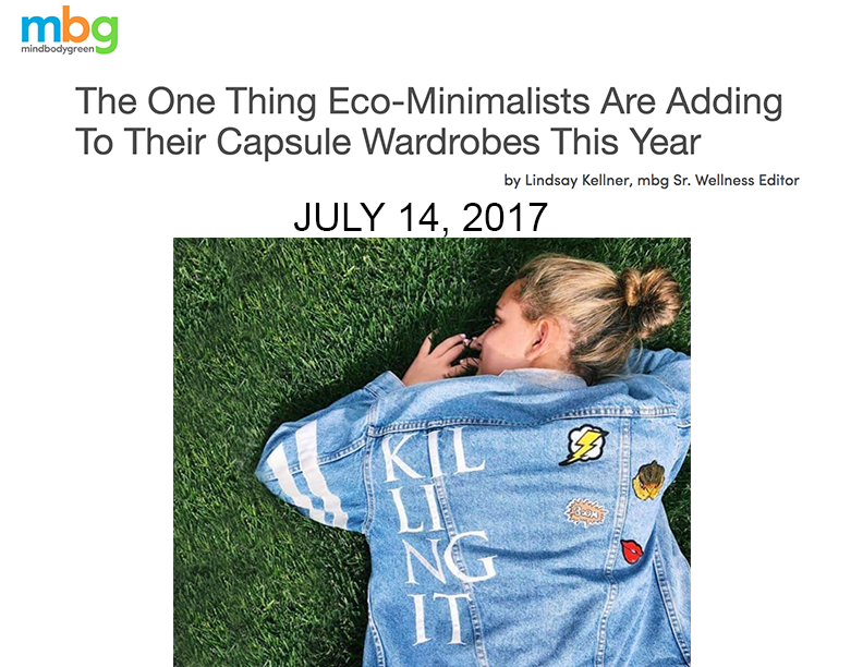 """doing OUR part to """"empower women through personalization and self-expression of vintage denim."""""""
