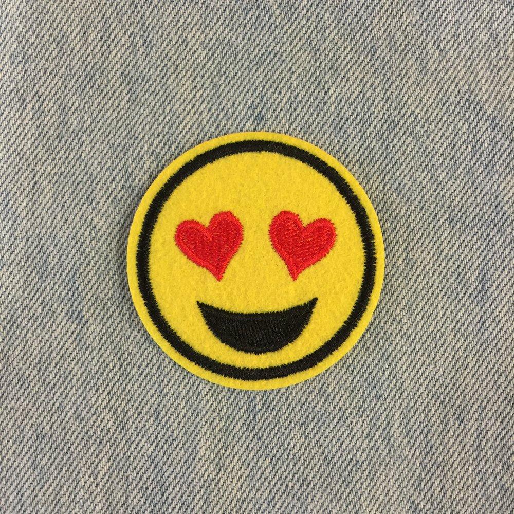 HEART EYE SMILEY