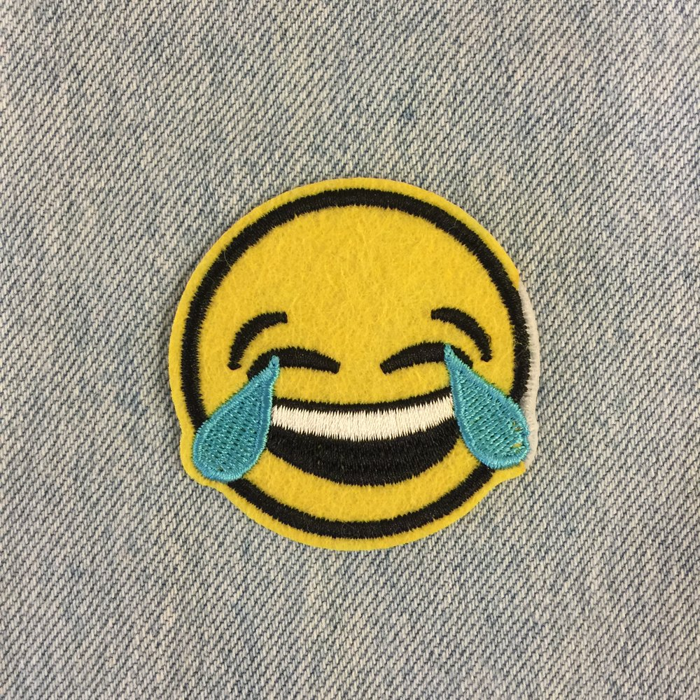 HAPPY TEARS SMILEY