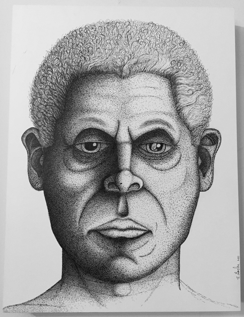 Self Portrait (African)