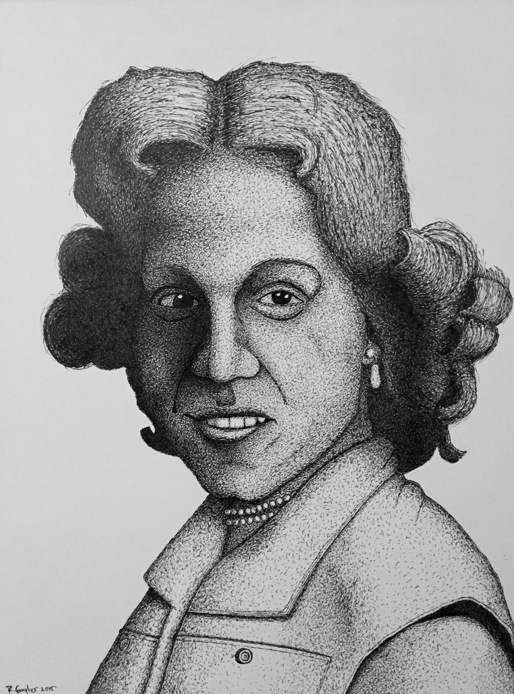 Portrait (Priscilla)