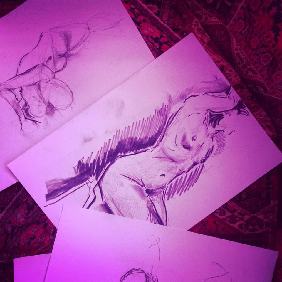 Life Drawing Class @B&H, EC2A London