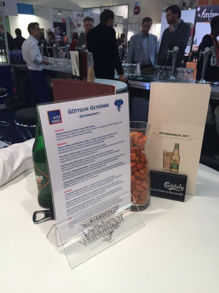 Internorga 2017 — Göttsche Getränke - Getränkefachgroßhändler in Hamburg