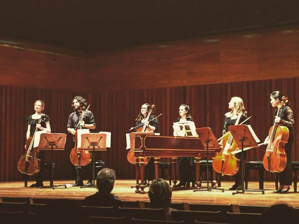 Brandenburg Concerto 6 arr. for 5 cellos in Milton Court