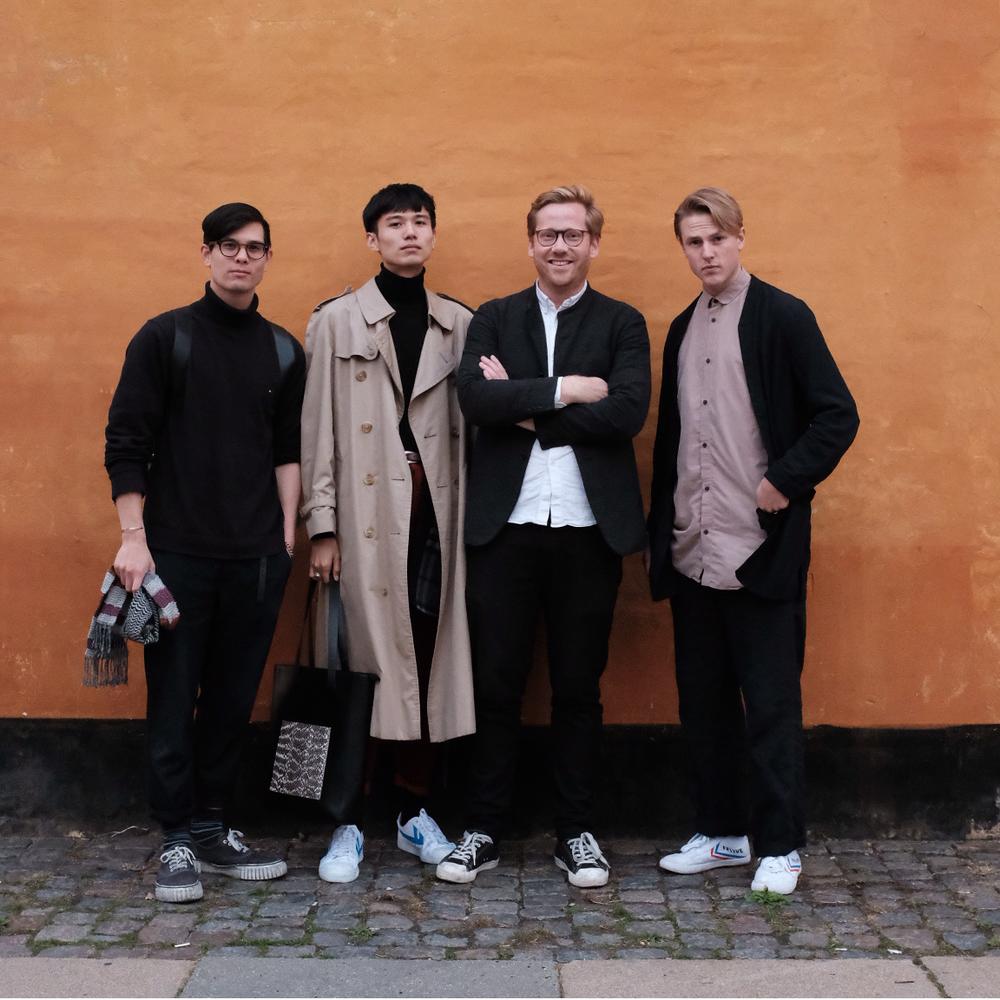Johan Christian Chen, Bohan Qui,David Andersson Sahlin and Daniel Ekström