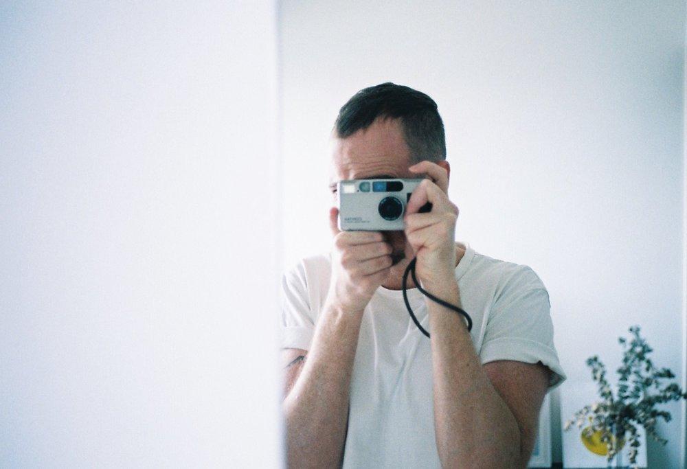 Self Portrait -- Nick Prideaux