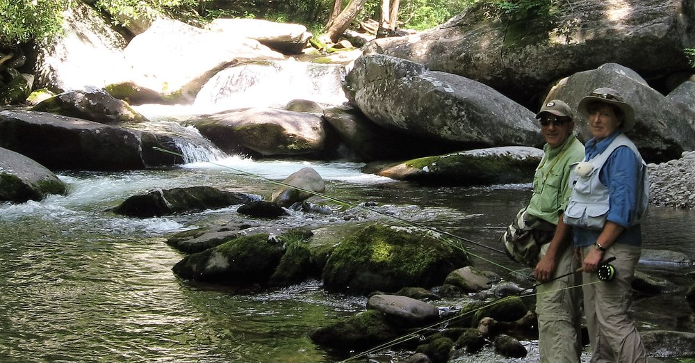 Fly fishing in the Great Smoky Mountains is our idea of mountain fun, but you'll find a variety of outdoor activities await you in East Tennessee, from golf to boating to hiking and more.