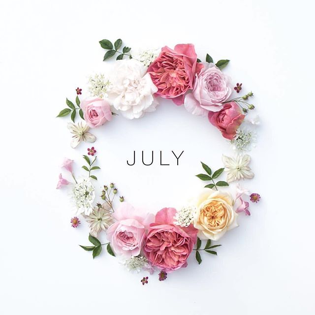 Six more left! It's never too late to do a refresh on goals, ideas and life in general.  Happy July! 💕 Let's make this one better than the last.