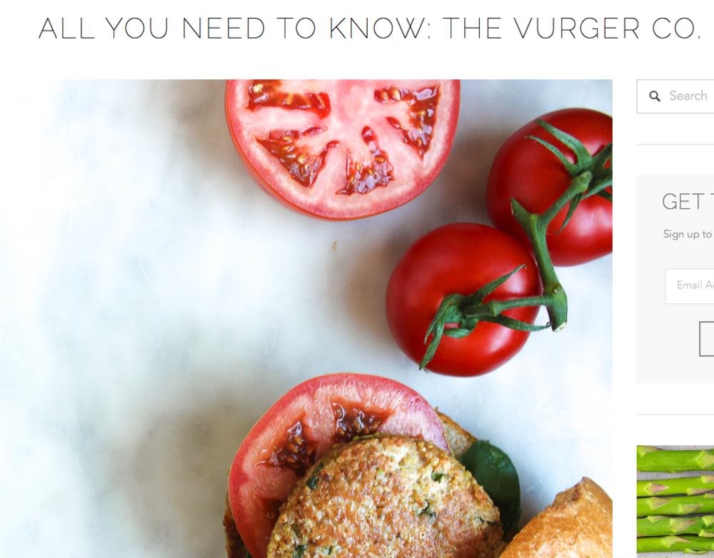 ''All you need to know about The Vurger Co'' - .........................
