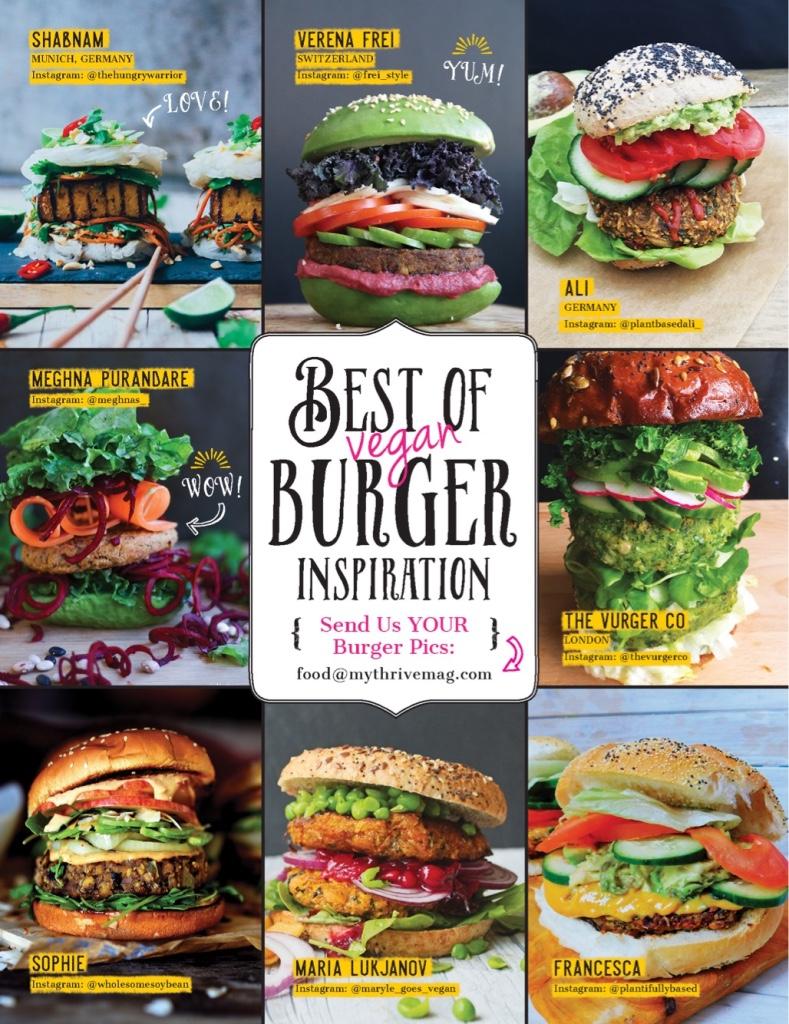 ''Best of Vegan Burger inspiration'' -