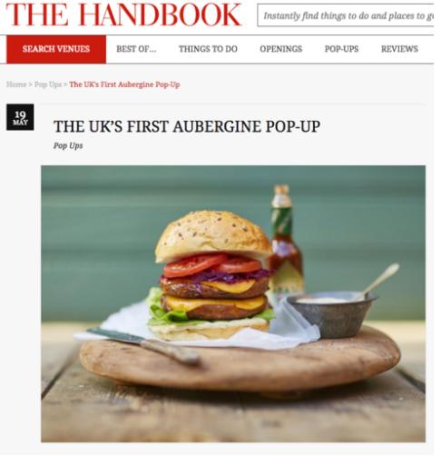 THE HANDBOOK LONDON - AUBURGER COVERAGE SPITALFIELDS
