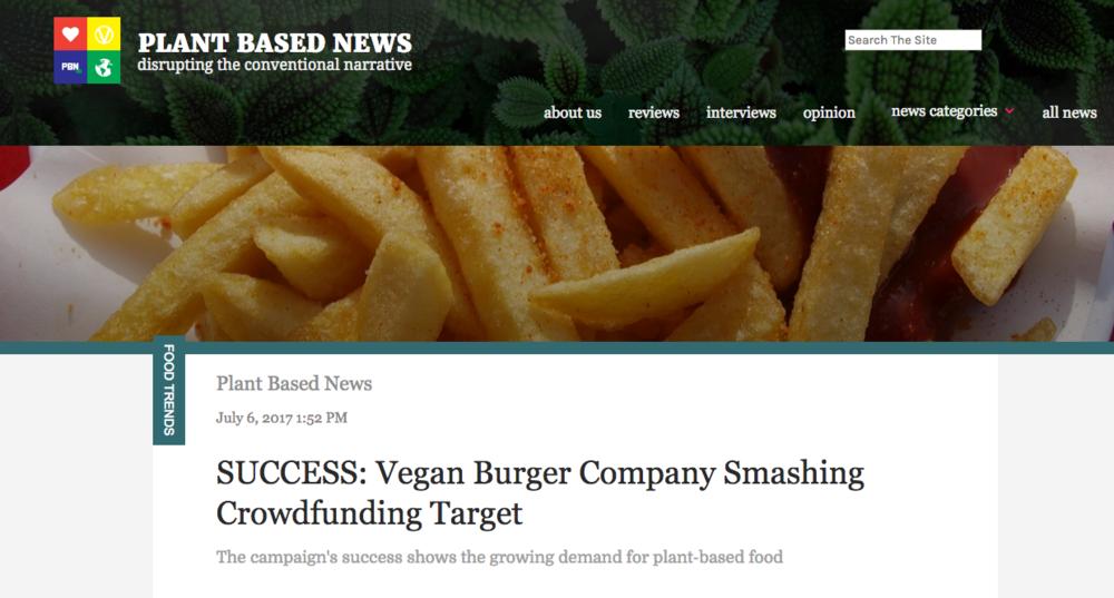 ''Success.. smashing crowdfunding target'' -