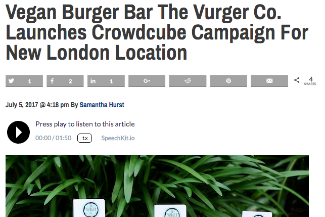 ''Launch for new London Location'' -