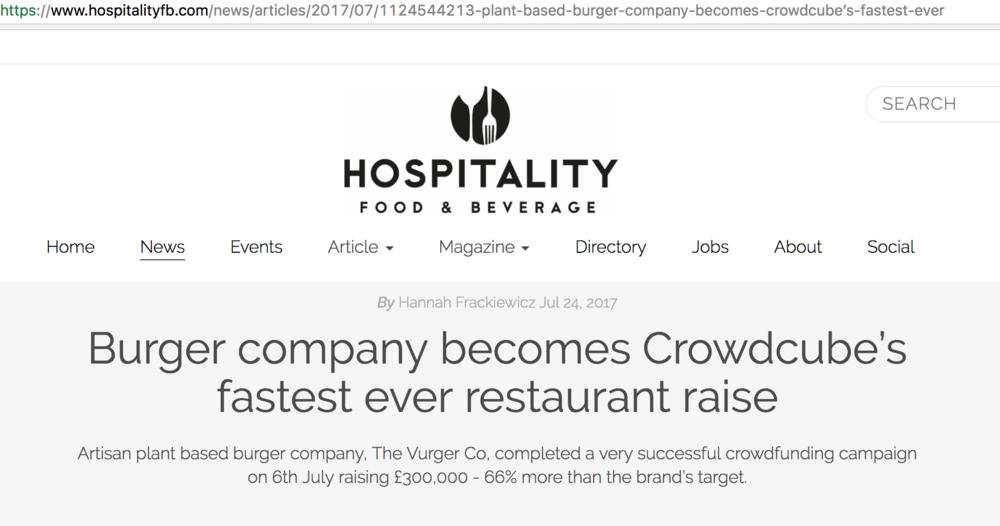 HospitalityFood & Beverage -