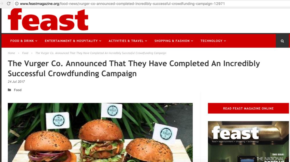 Feast Magazine -