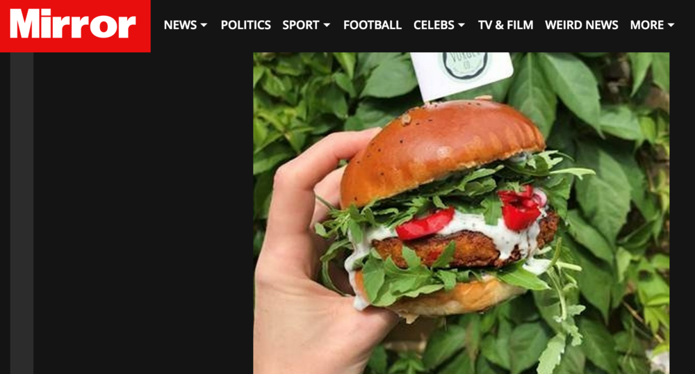 The Mirror Online - Coverage of ''21 of the best burgers to note on National Burger Day''