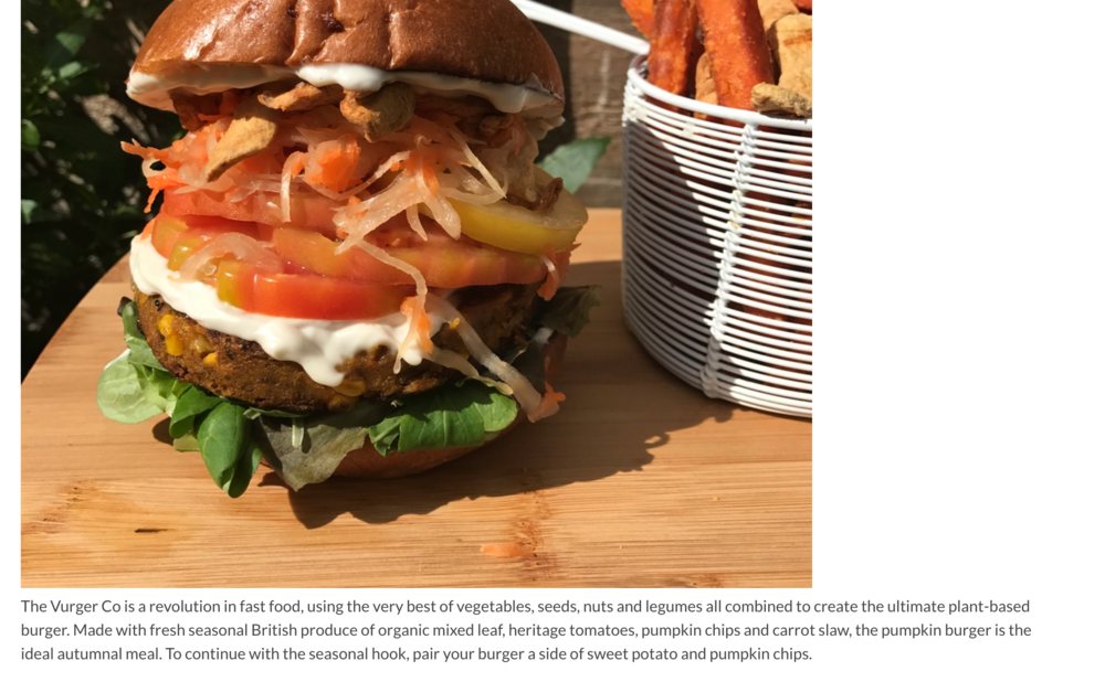 HOUSE OF COCO .NET - Feature on our special Halloween Pumpkin Burger