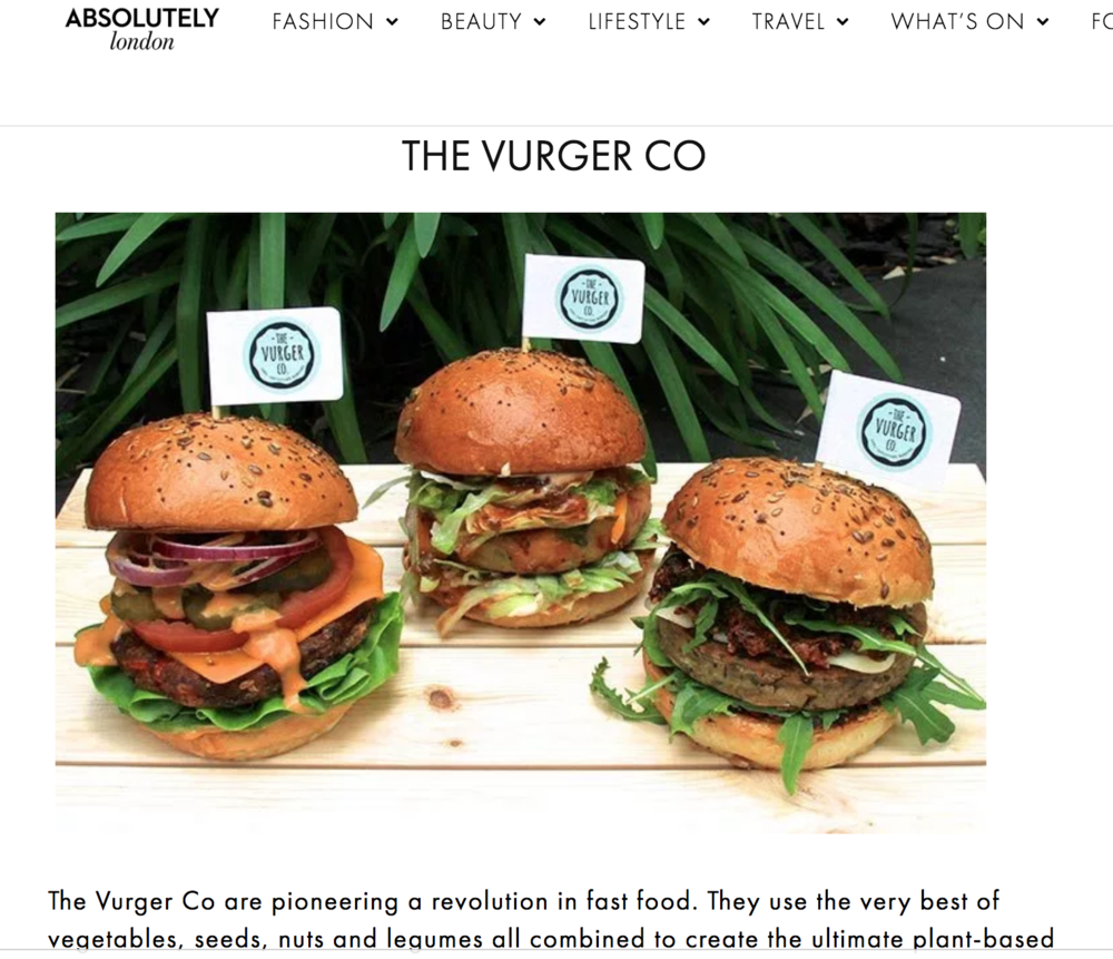 Absolutely London - Article about where to eat on World Vegan Day