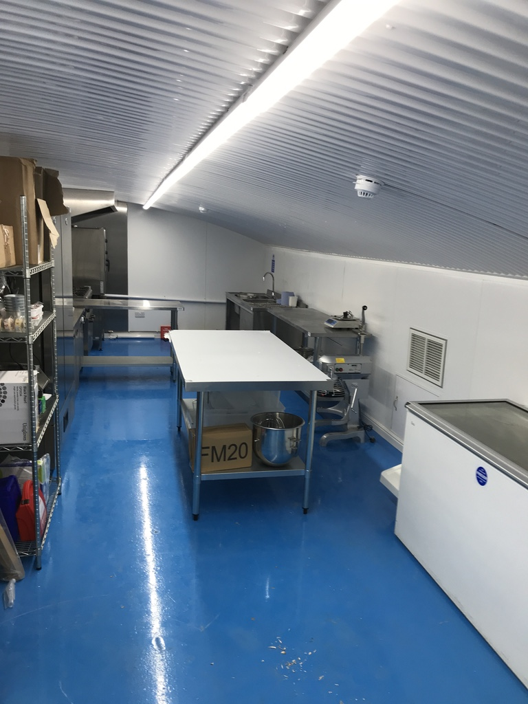 Moved into our production kitchen September 2017