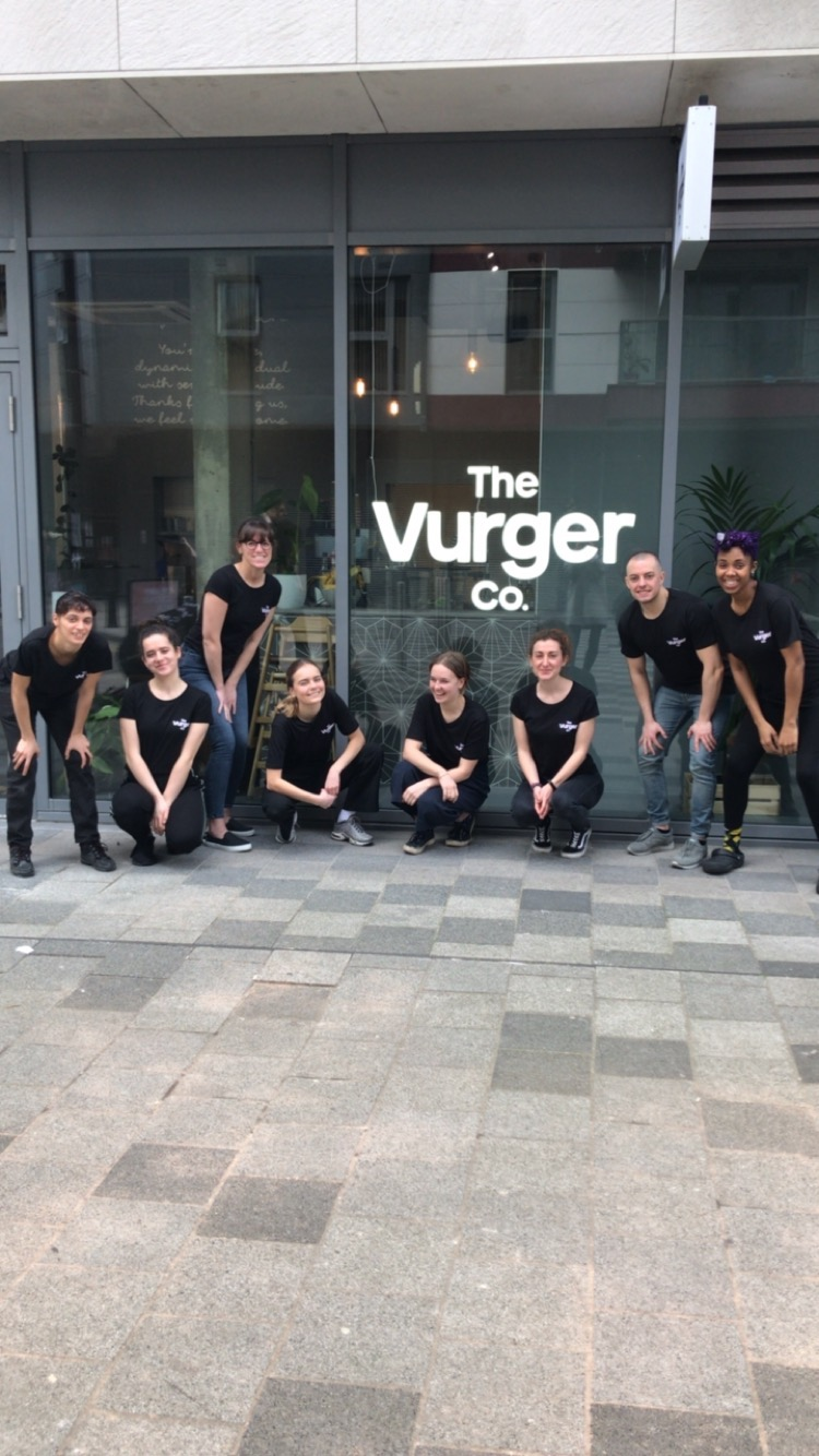 Our team ready on opening day - 24th March 2018