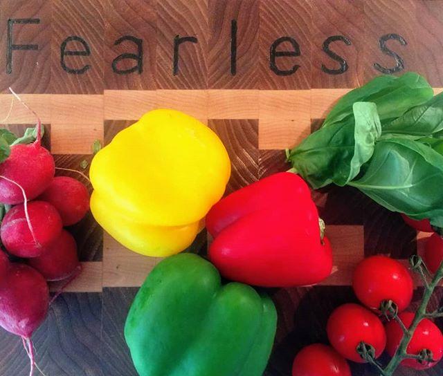 Making light work of chopping veg since 2018 @wackosworld @fearlesscoach @blenheimforge #fearless #lunchtime