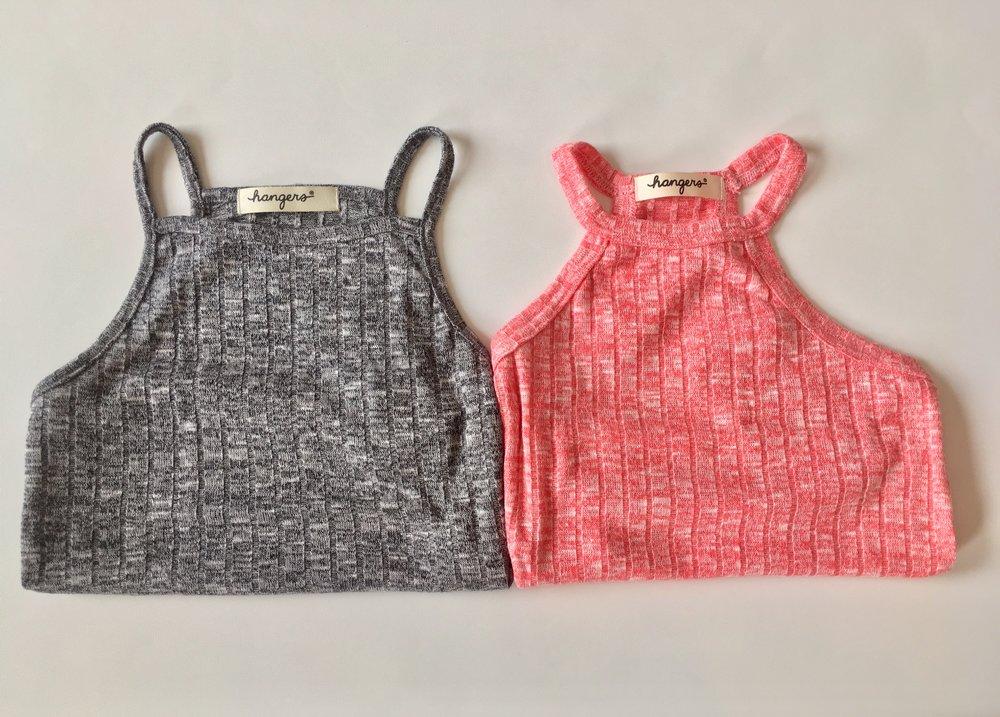 Hangers tops.