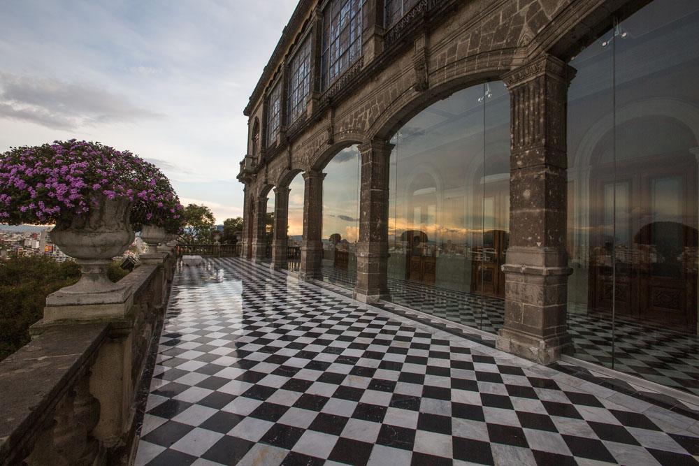 Castillo de Chapultepec ( photo )