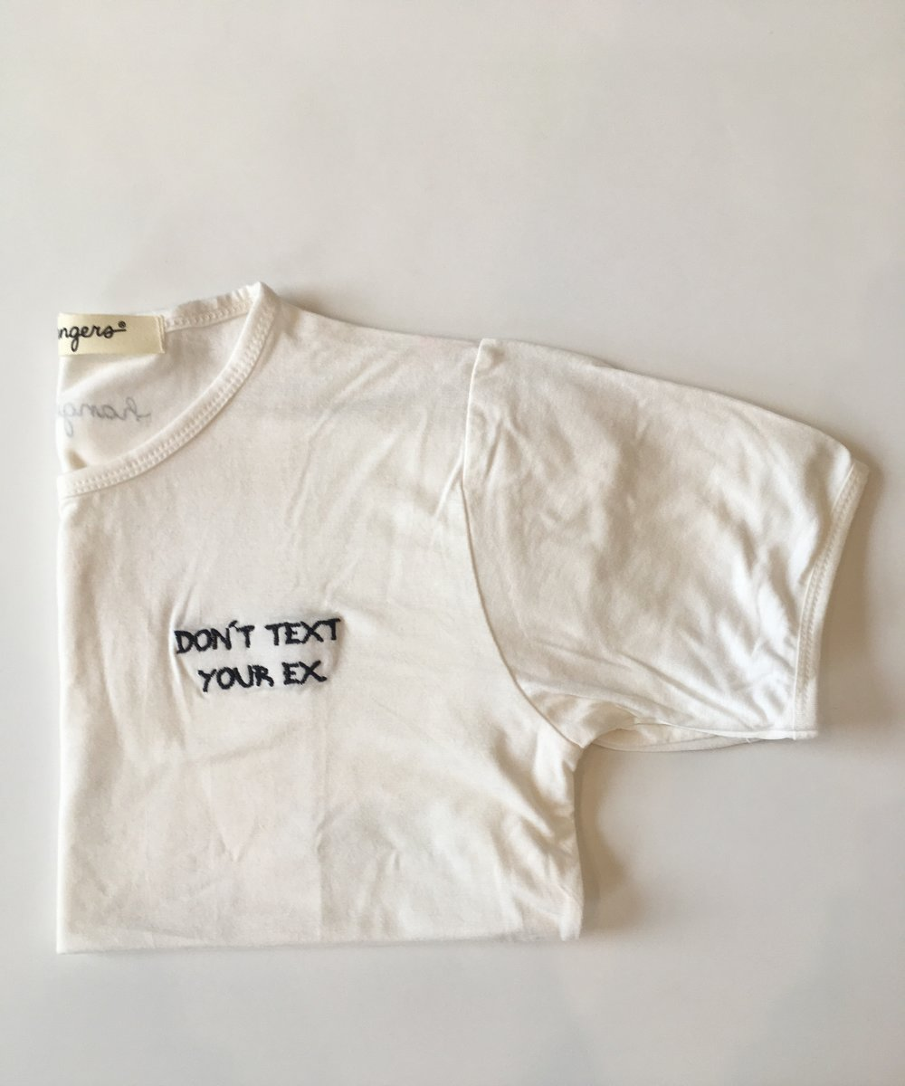 White tee MEXI.CLOTHING