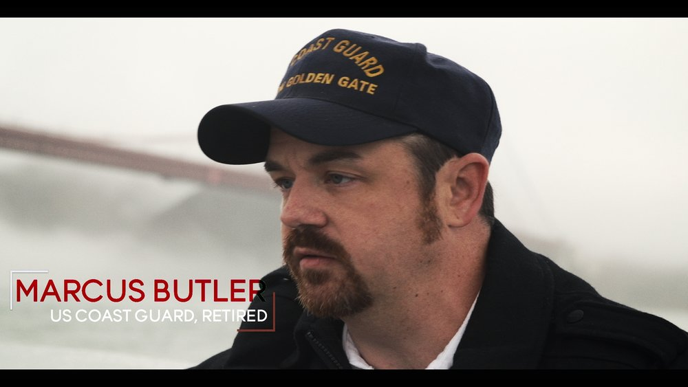 Marcus Butler Retired US Coast Guard officer who help pull Kevin from the boat after his jump. In his 3 year stationed at the Golden Gate Bridge he pulled 57 dead bodies from the water who had jumped from the bridge. Kevin was his first survivor. #TeamRippleWorld (USA)