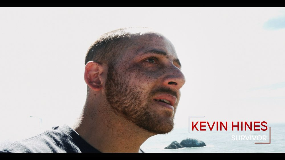 Kevin Hines Kevin is one of only thirty-six (less than 1%) to survive the fall. He is the only Golden Gate Bridge jump survivor who is actively spreading a message of living mentally well around the country and throughout the globe. #TeamRippleWorld (USA)