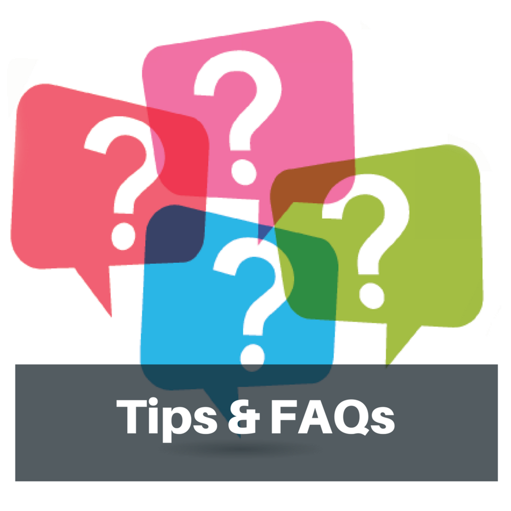 FAQ Sheet - Download our Frequently Asked Questions Sheet before you get started. Download Here