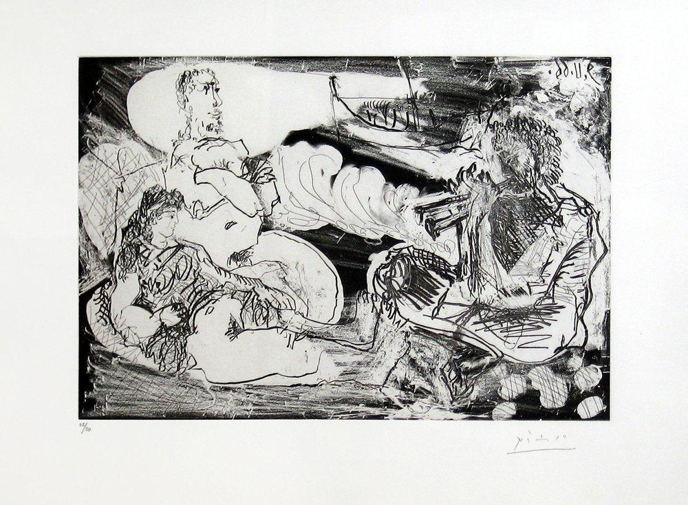 Picasso, Pablo - Le Jouer de Diavle