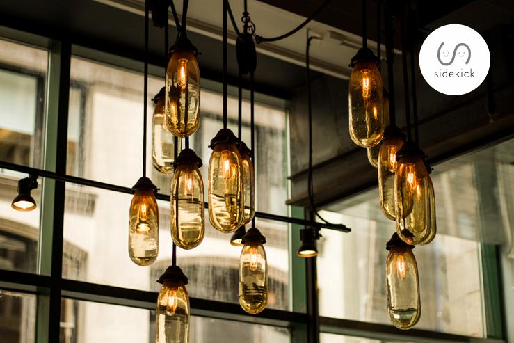 inspired restaurant lighting