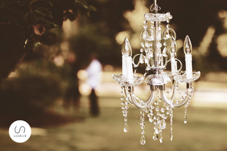 Outdoor Lighting Design with Chandeliers