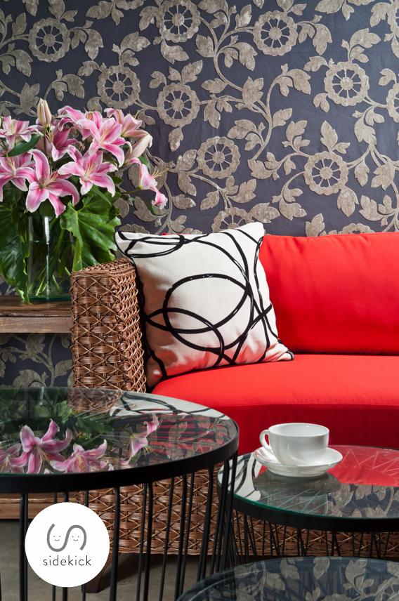 Gray Botanical Wallpaper Trends