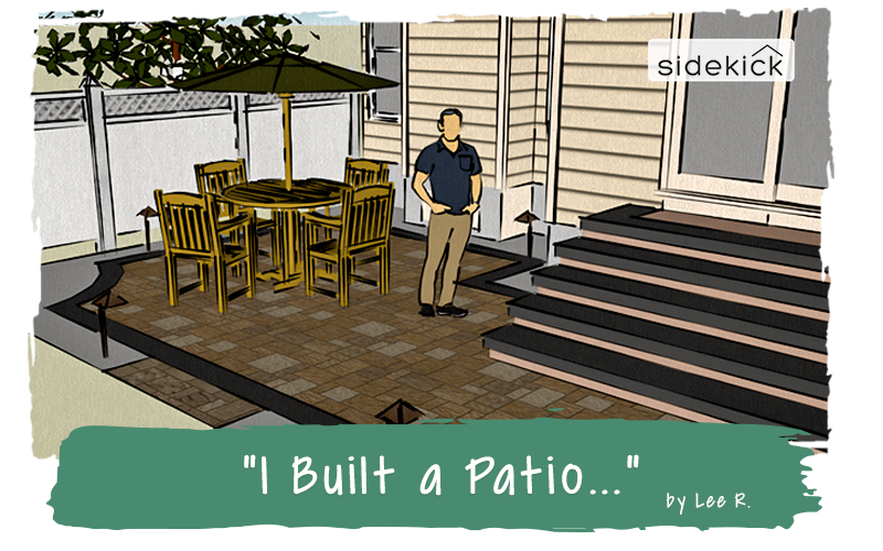 I Built a Patio