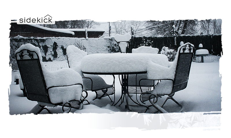 Winterizing By Cleaning Up Your Yard and Putting Patio Furniture Away