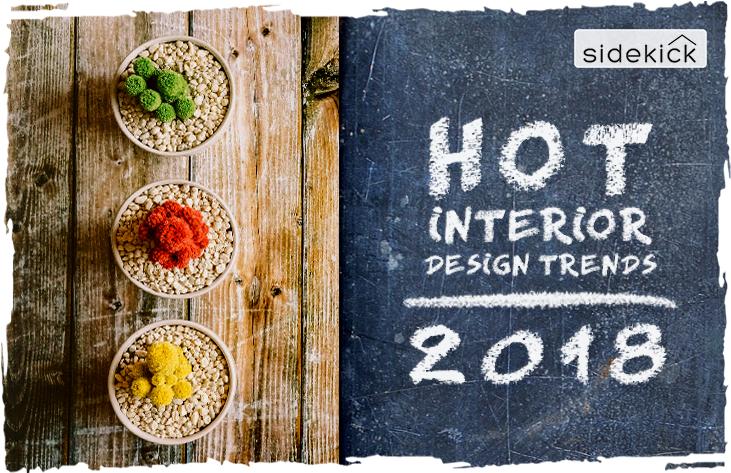 hot interior design trends for 2018