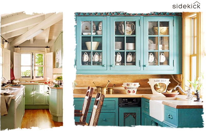 interior design trends in 2018 add color to the kitchen