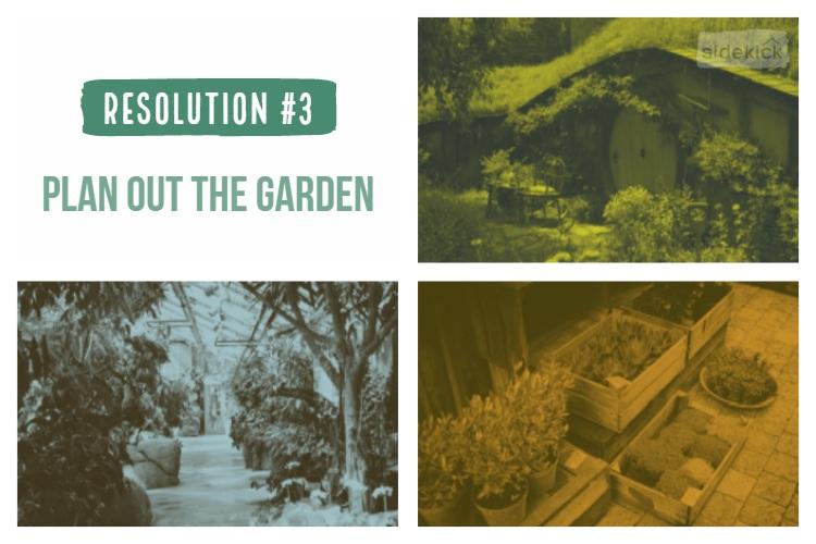 plan out garden