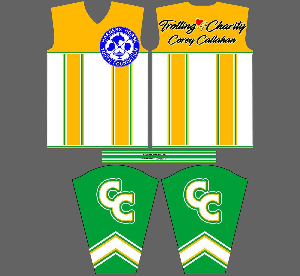 Corey Callahan Trotting 4 Charity
