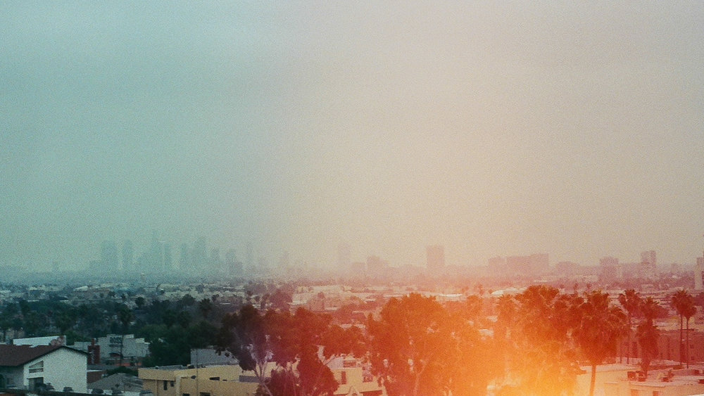 From the Roof. Los Angeles, California. 35mm