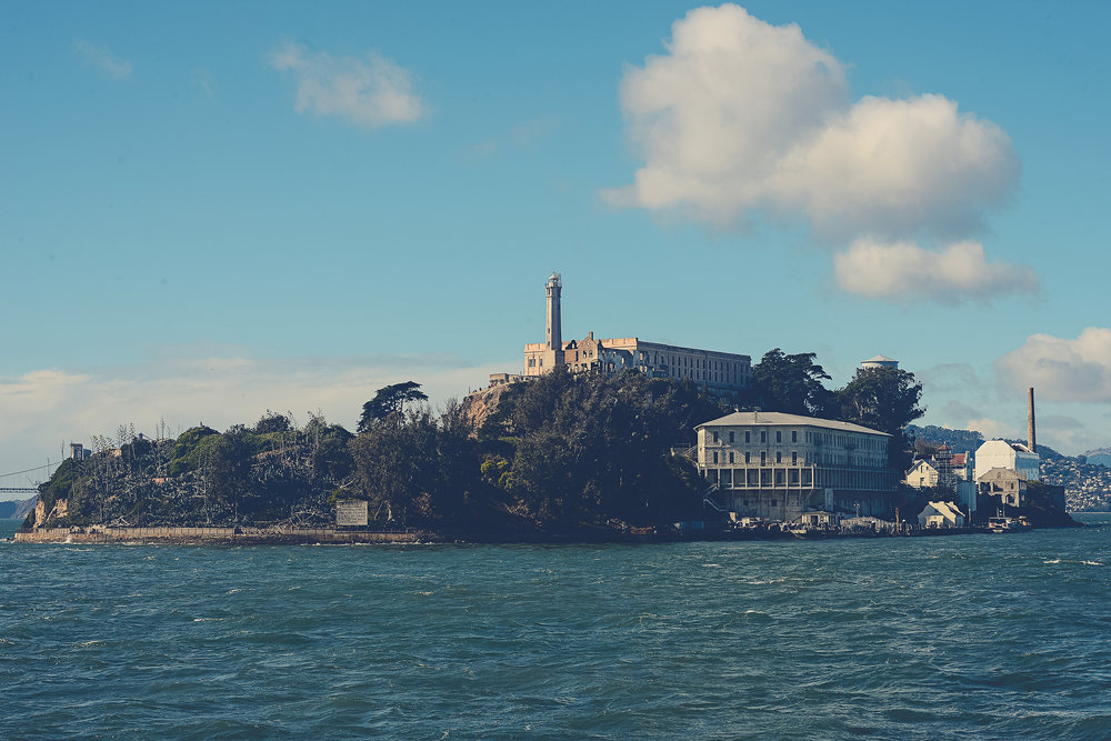 Alcatraz. San Francisco, California