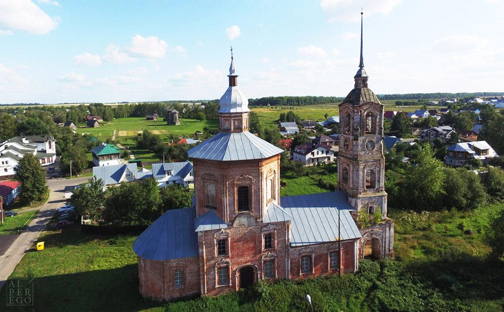 Borisoglebskaya Church, abandoned